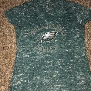 Philadelphia Eagles vneck t shirt